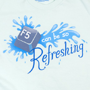 threadless f5 can be so refreshing