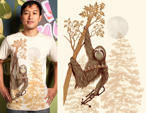threadless sloth wars