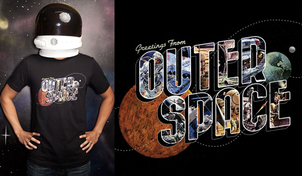 threadless greetings from outer space
