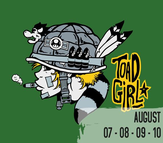 nowherebad toad girl