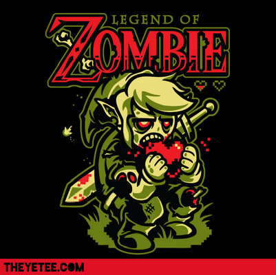 the yetee legend of zombie