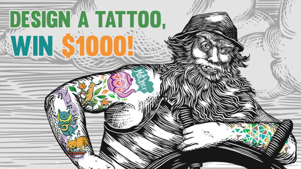 redbubble tattoo design contest