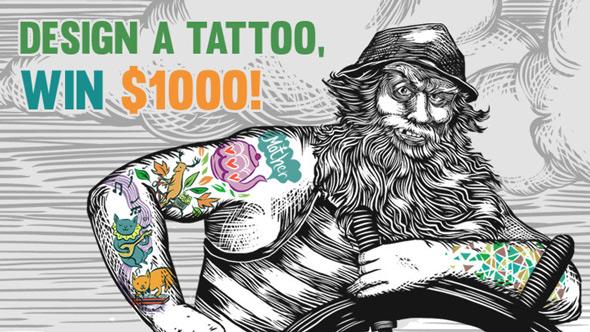 redbubble tattoo design contest