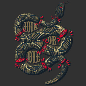 design by humans join or die