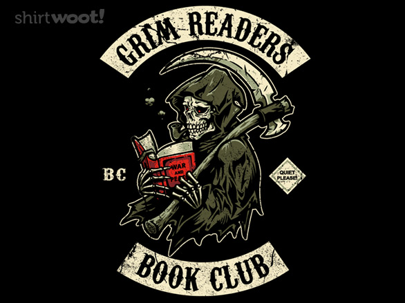 shirt.woot grim readers book club