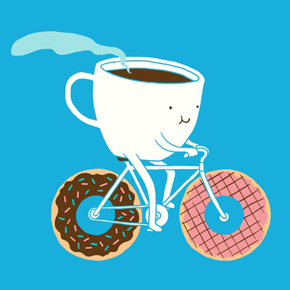 threadless coffee and donuts