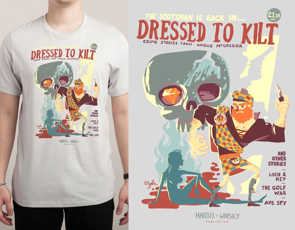 threadless dressed to kilt