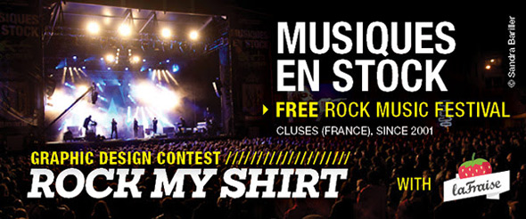 la fraise rock my shirt contest