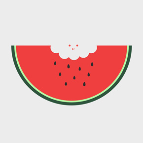threadless water melon