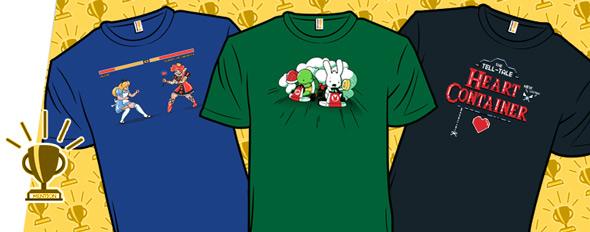 shirt.woot new designs literary classics as video games