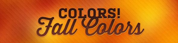 threadless fall colors
