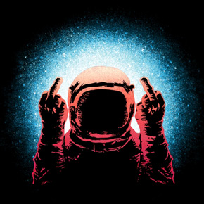 threadless negative spaceman