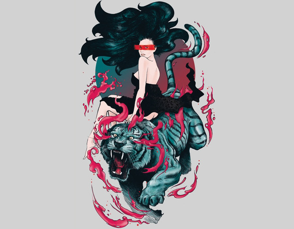 threadless beauty and the beast