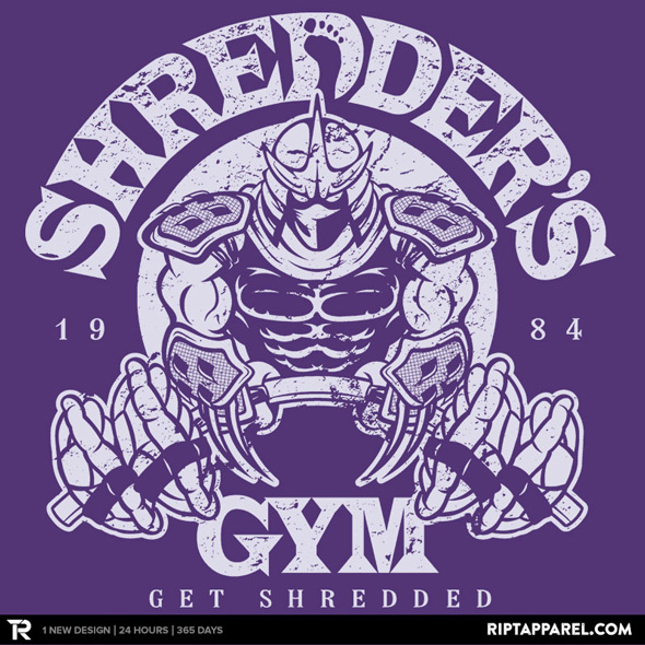 ript apparel shredder's gym