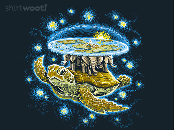 shirt.woot endless starry night