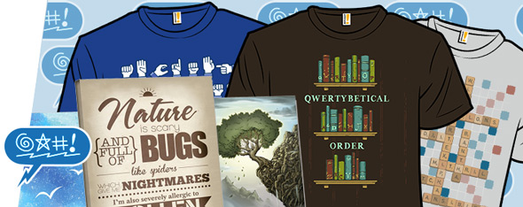 shirt.woot nature canvases and the alphabet