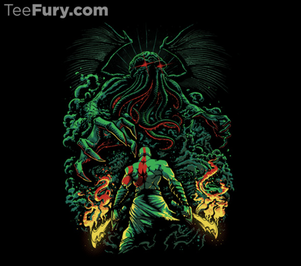 teefury clash of the old gods