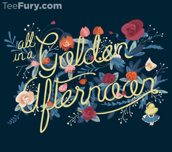 teefury the flowers of wonderland