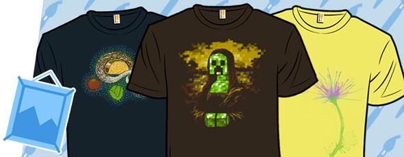 shirt.woot lemon tees and classic art updates