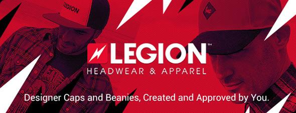 legion headwear logo