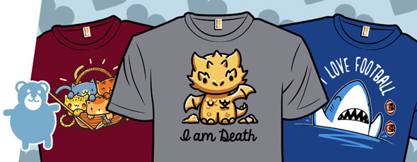 shirt.woot bundle sale pop culture kawaii