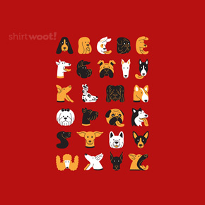 shirt.woot dog typeface