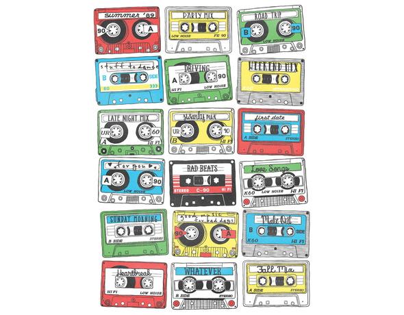 threadless 80s playlist