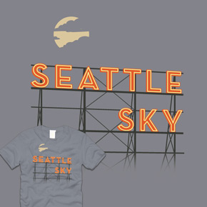 shirt.woot it's sometimes sunny in seattle