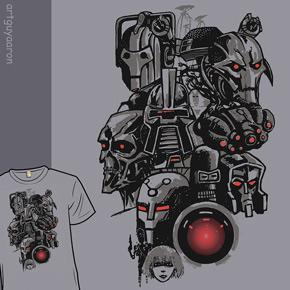 shirt.woot menagerie of malevolent machines