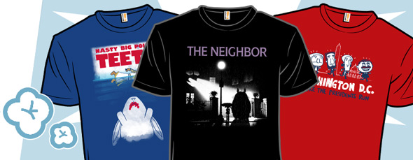 shirt.woot movie poster tees and unpopular states
