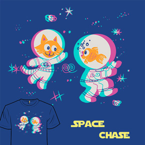 shirt.woot space chase
