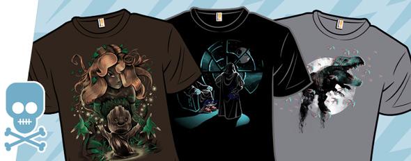 shirt.woot villains and 3d tees