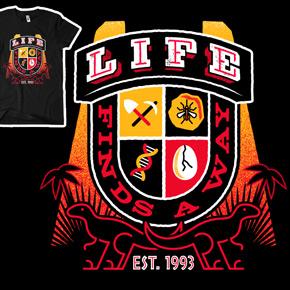 shirt.woot life finds away