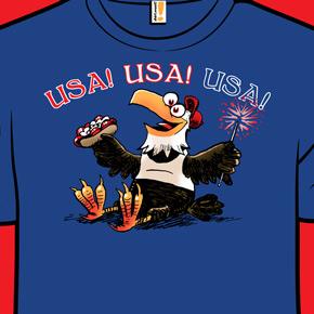 shirt.woot majestic symbol of freedom