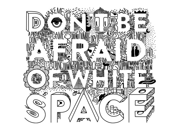 threadless don't be afraid of white space