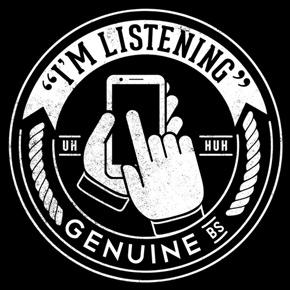 threadless i'm listening