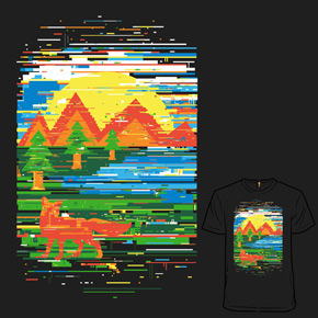 shirt.woot glitch in nature