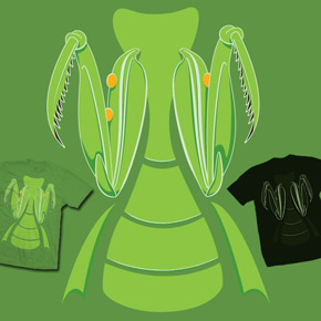 shirt.woot mantis glow in the dark