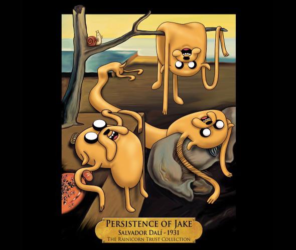 we love fine persistence of jake
