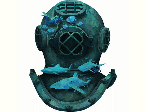 camiseteria deep diving