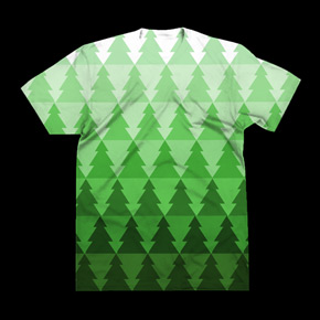 shirt.woot christmas forest