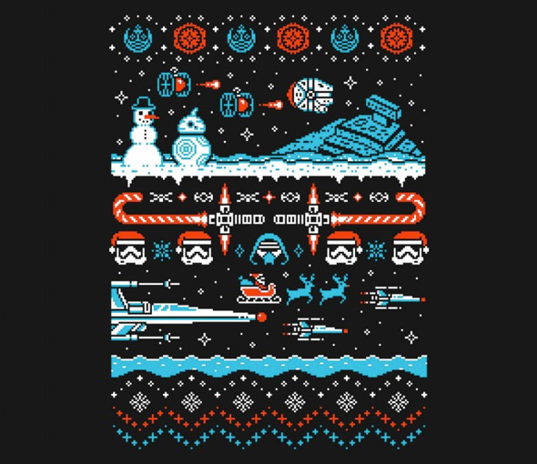 teefury holiday awakens