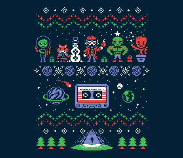 teefury holiday mix vol 1