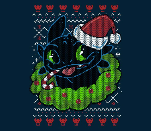 teefury silent night fury