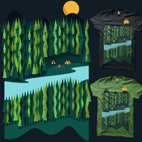 shirt.woot let's camp