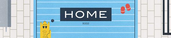 threadless home rugs