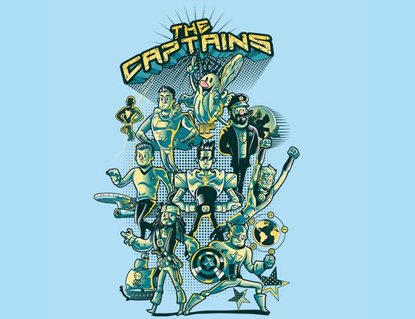 camiseteria the captains