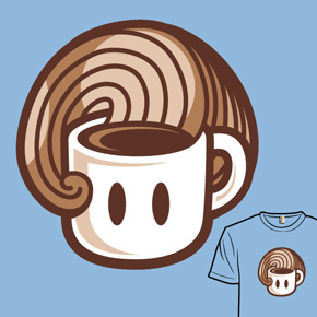 shirt.woot coffee power up