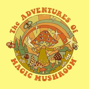 threadless magic mushroom