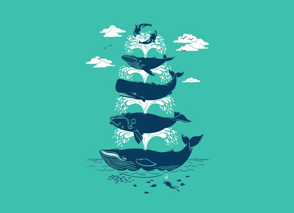 threadless whale of a time